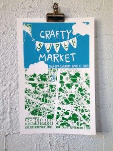 2010 spring craft show poster cincinnati