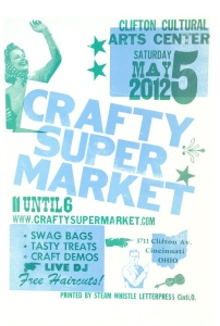 crafty supermarket spring 2012 show poster