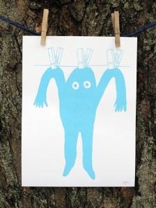 andy j miller, paper artist prints