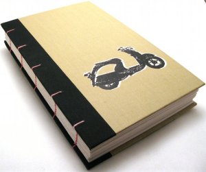 monkey dog studio handmade books