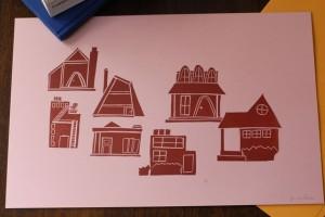 pine street makery handmade prints