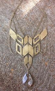 scarlett garnet handmade jewelry metal