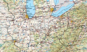 midwest map craft shows