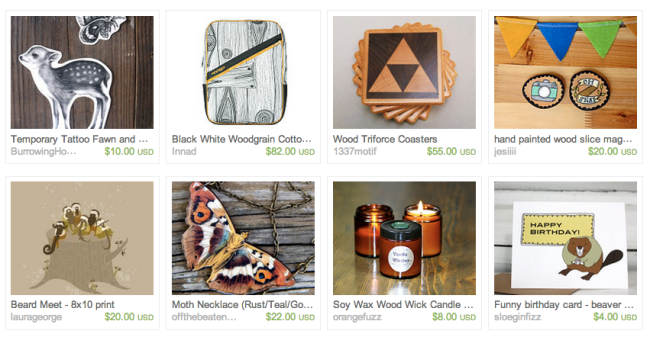 wood etsy treasury