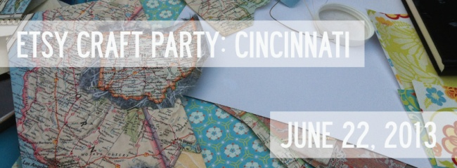etsy craft party cincinnati