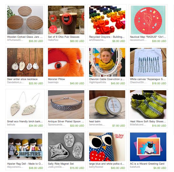 crafty supermarket  etsy treasury 2013