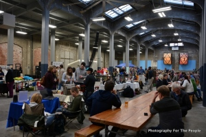 rhinegeist art on vine event, cincinnati