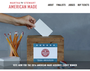 martha stewart american made contest voting