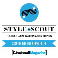 Cincinnati Magazine Style Scout blog