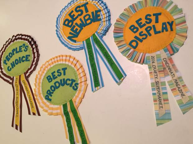 crafty supermarket prize ribbons