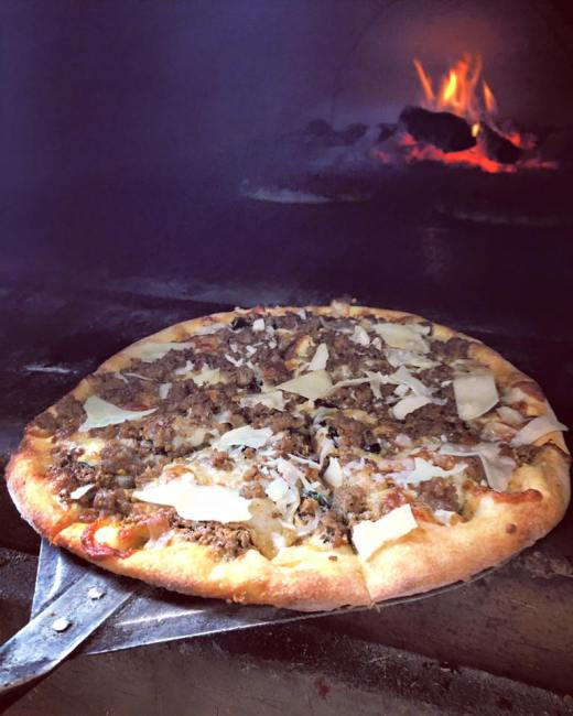 fireside pizza